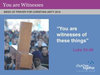 Luke 24:48
