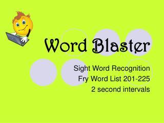 Word Blaster