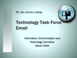 Technology Task Force - Email