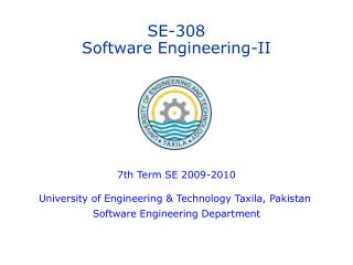 SE-308 Software Engineering-II
