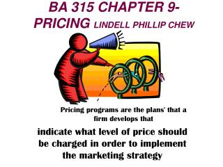 BA 315 CHAPTER 9- PRICING  LINDELL PHILLIP CHEW