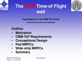 The  CBM  Time-of Flight wall