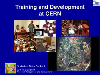 Training and Development at CERN
