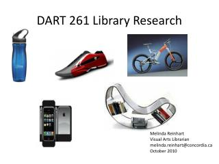 DART 261 Library Research