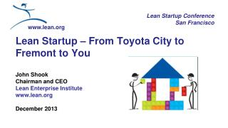 Lean Startup Conference San Francisco