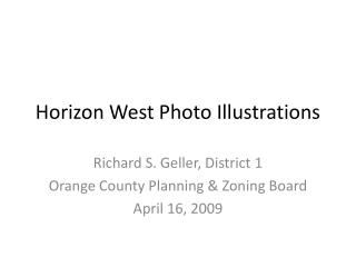 Horizon West Photo Illustrations