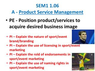 SEM1 1.06  A -  Product Service Management
