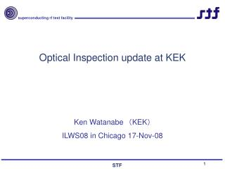 Optical Inspection update at KEK