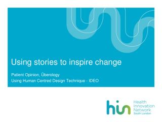 Using stories to inspire change