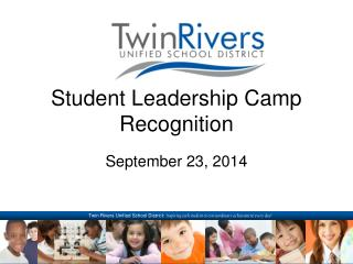 Student Leadership Camp Recognition