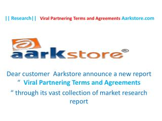 Research Viral Partnering Terms and Agreements Aarkstore.co