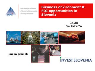 Business environment &      FDI opportunities in Slovenia