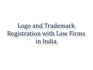 Logo and Trademark Registration with Law Firms in India
