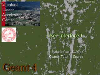 User Interface I