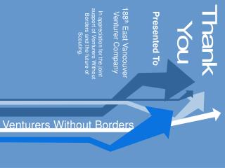 Venturers Without Borders