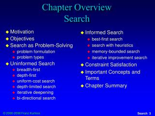 Chapter Overview Search