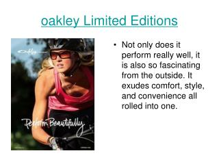 fakepath\oakley Limited Editions