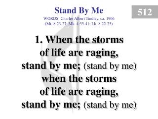 Stand By Me (Verse 1)