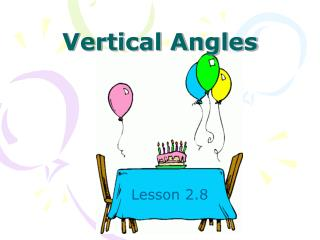 Vertical Angles