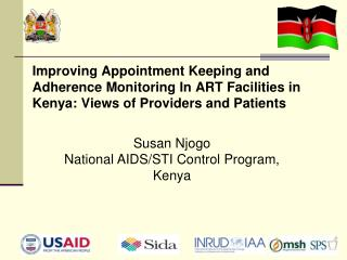 Susan Njogo National AIDS/STI Control Program, Kenya