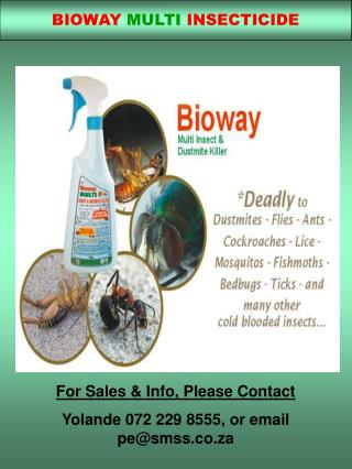BIOWAY MULTI INSECTICIDE