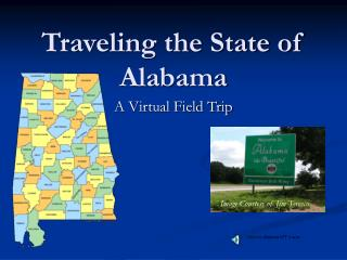 Traveling the State of Alabama