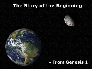 From Genesis 1