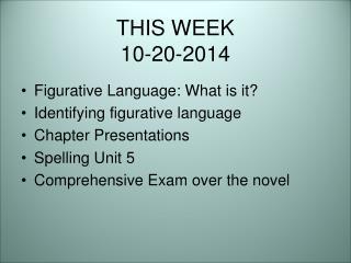 THIS WEEK 10-20-2014