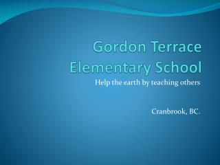 Gordon Terrace Elementary School
