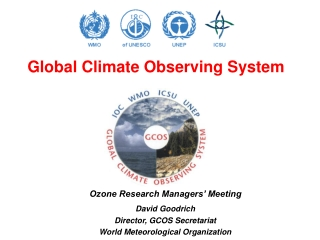 World Meteorological Organization Hydrology and Water Resources Programme