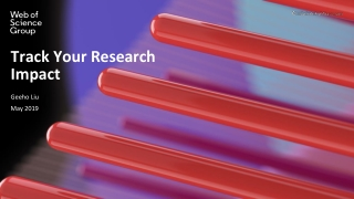 Track Your Research Impact