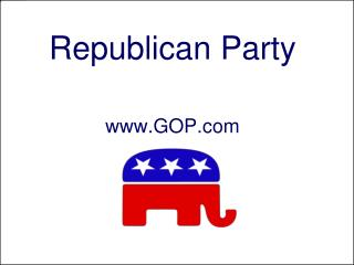 Republican Party GOP
