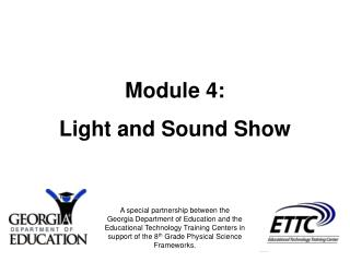 Module 4: Light and Sound Show