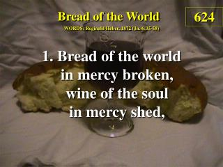 Bread of the World  (1)