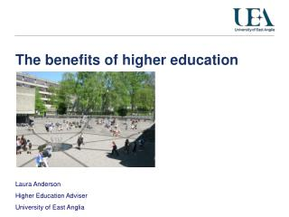 The benefits of higher education