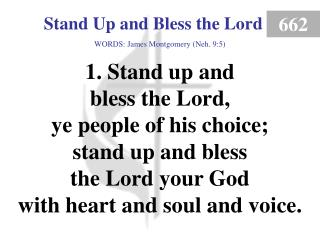 Stand Up and Bless the Lord (1)