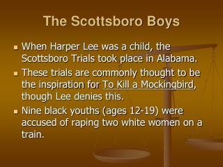 scottsboro boys trials
