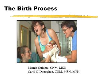 The Birth Process