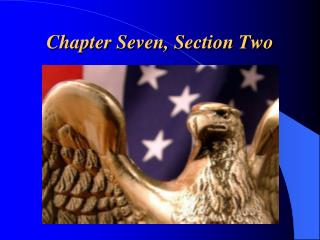 Chapter Seven, Section Two