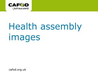 Health assembly images