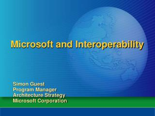 Microsoft and Interoperability