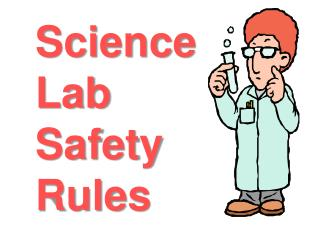 Science Lab  Safety  Rules