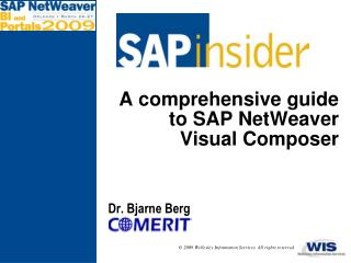 A comprehensive guide to SAP NetWeaver Visual Composer