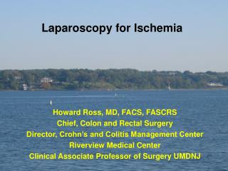 Laparoscopy for Ischemia