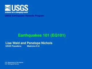 Earthquakes 101 (EQ101)