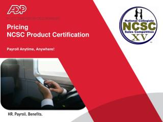 Pricing  NCSC Product Certification