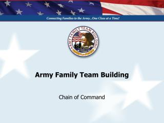 Army Family Team Building