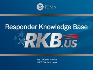 Responder Knowledge Base