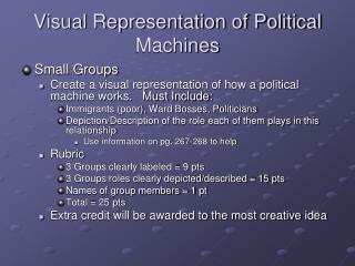 Visual Representation of Political Machines