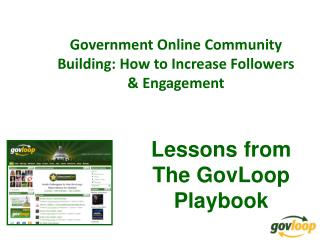 Government Online Community Building: How to Increase Followers & Engagement